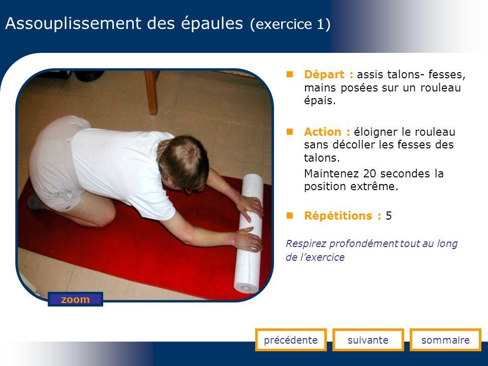 Assouplissement des épaules (exercice 1)