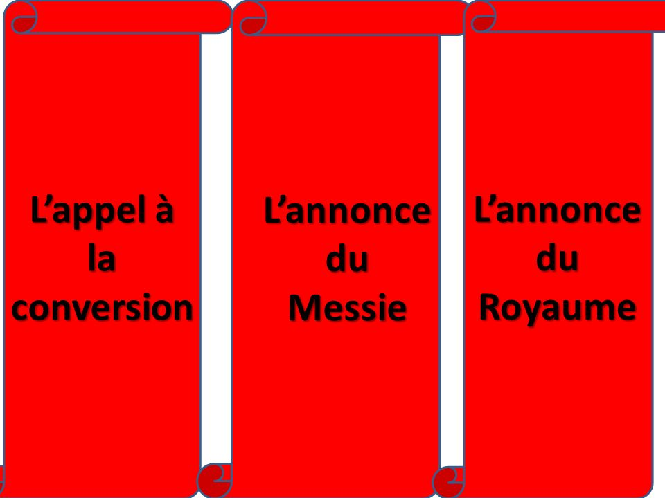 L'appel à la conversion