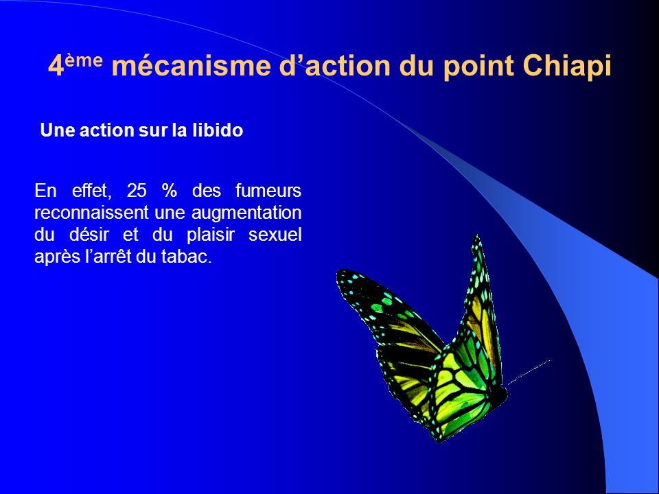 4ème mécanisme d'action du point Chiapi
