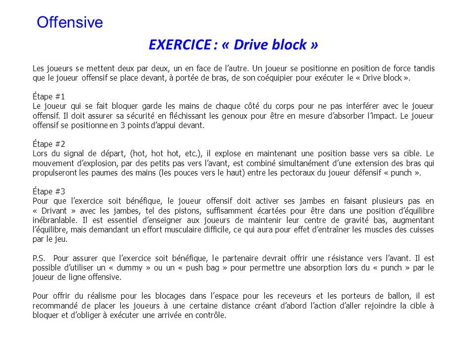 EXERCICE : « Drive block »