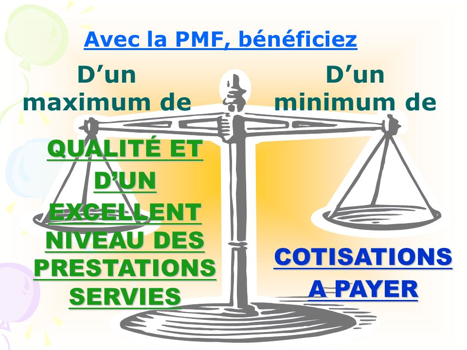 EXCELLENT NIVEAU DES PRESTATIONS SERVIES
