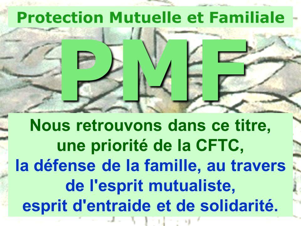 PMF Nous retrouvons dans ce titre, une priorité de la CFTC,