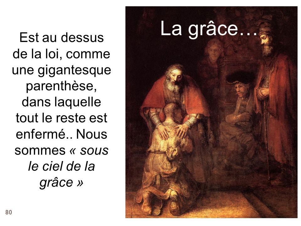 La grâce…