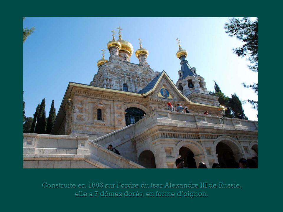 Construite en 1886 sur l'ordre du tsar Alexandre III de Russie,