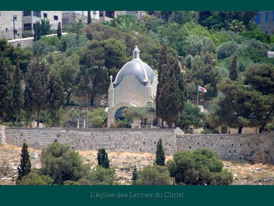 L'église des Larmes du Christ