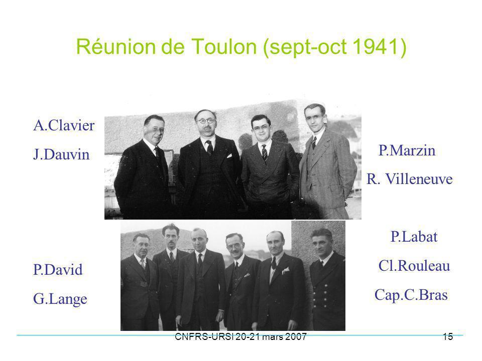 Réunion de Toulon (sept-oct 1941)
