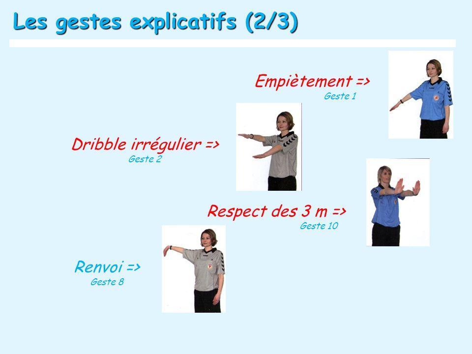Dribble irrégulier =>