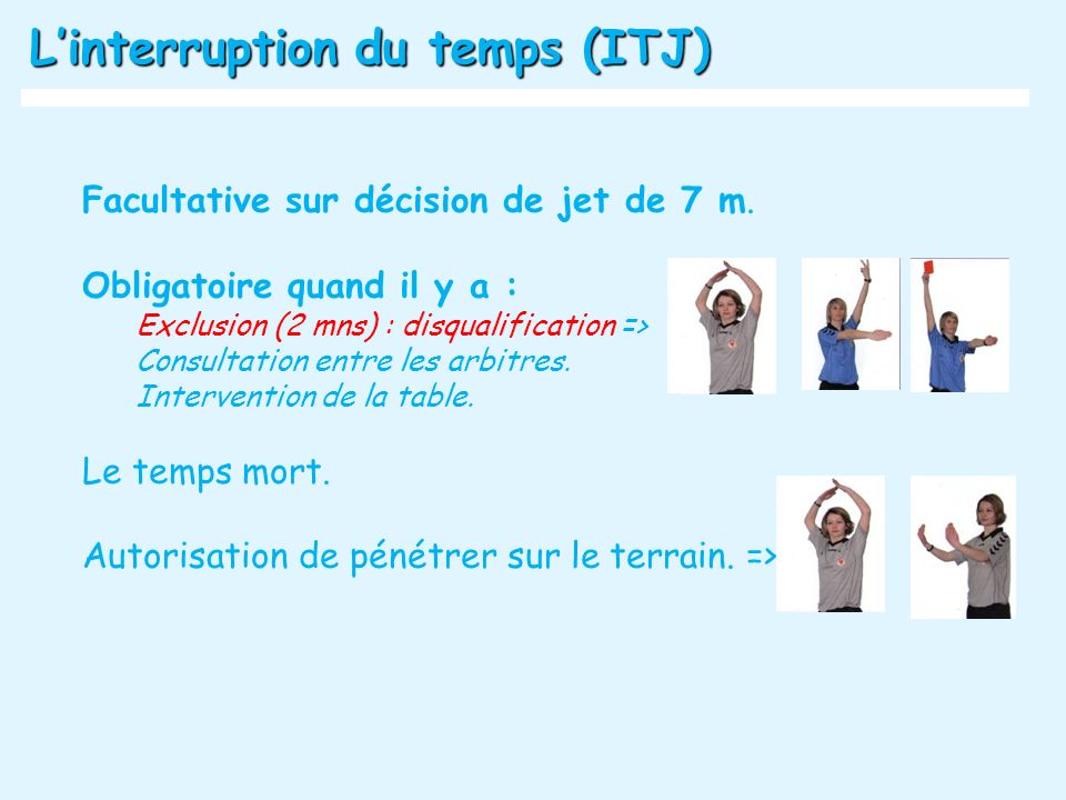 L'interruption du temps (ITJ)