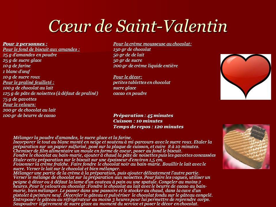 Cœur de Saint-Valentin