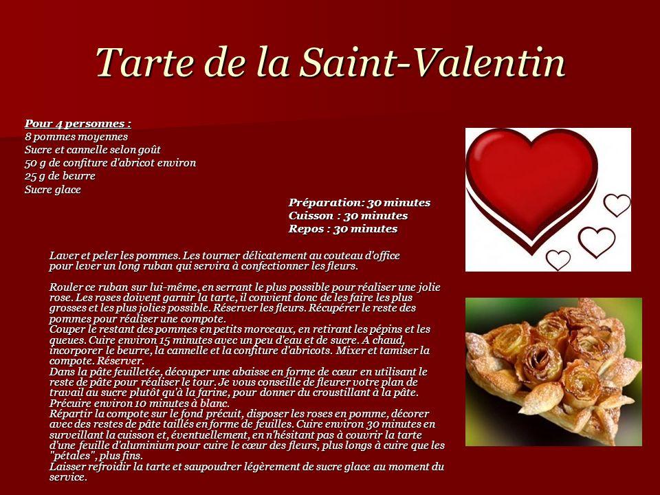 Tarte de la Saint-Valentin