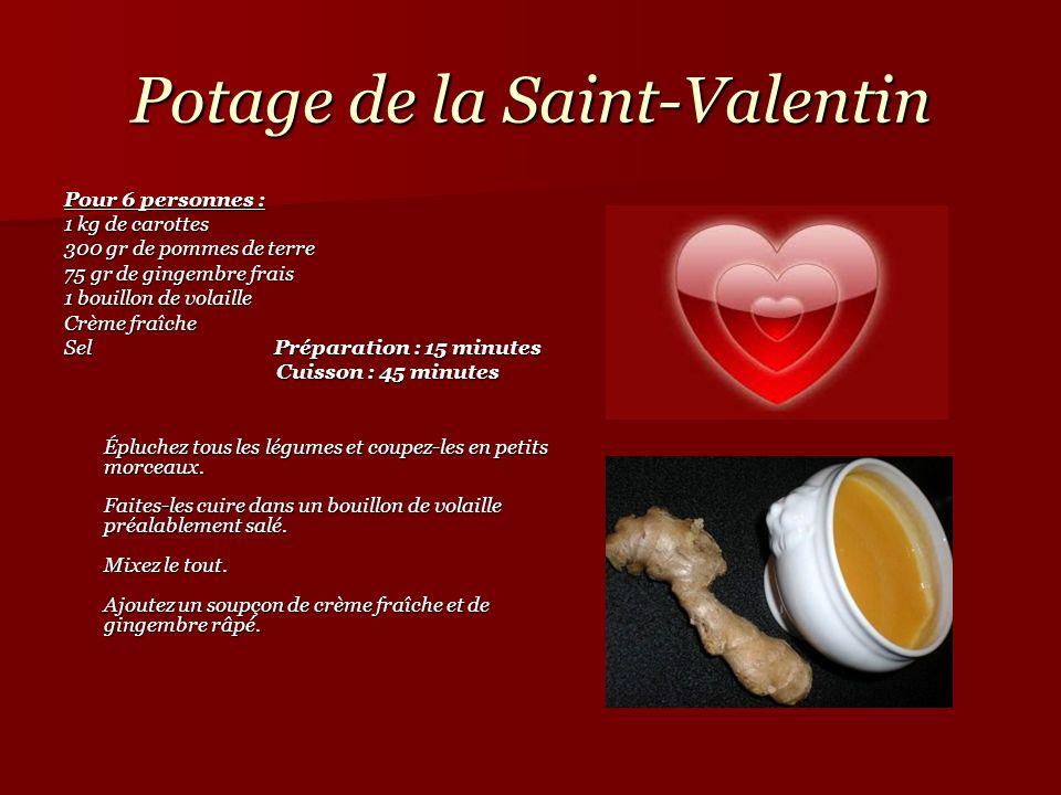Potage de la Saint-Valentin