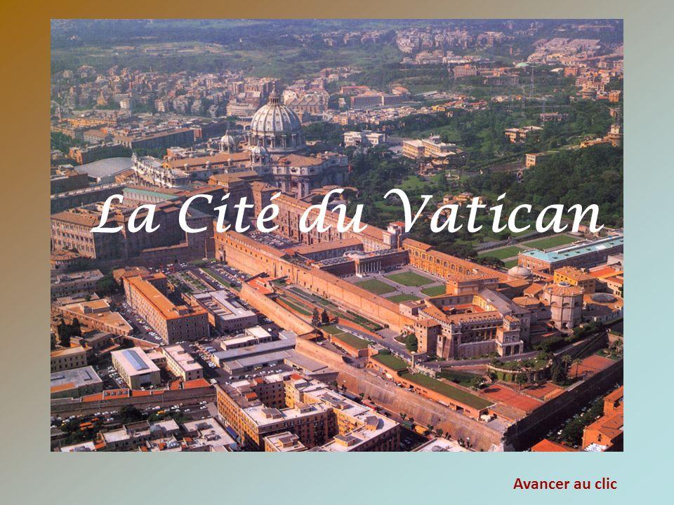La Cité du Vatican Avancer au clic