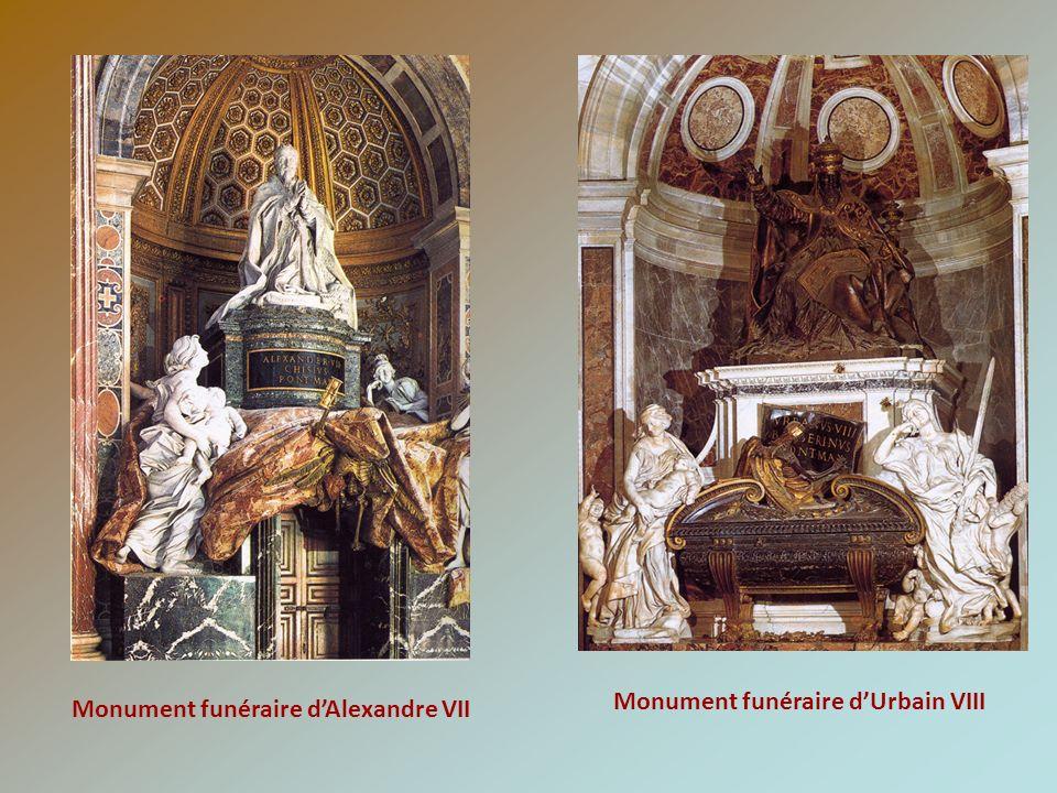 Monument funéraire d'Urbain VIII Monument funéraire d'Alexandre VII