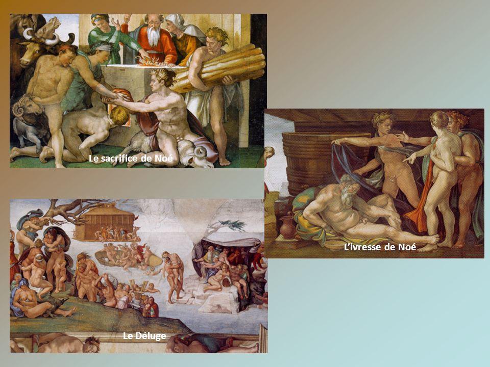 Le sacrifice de Noé L'ivresse de Noé Le Déluge