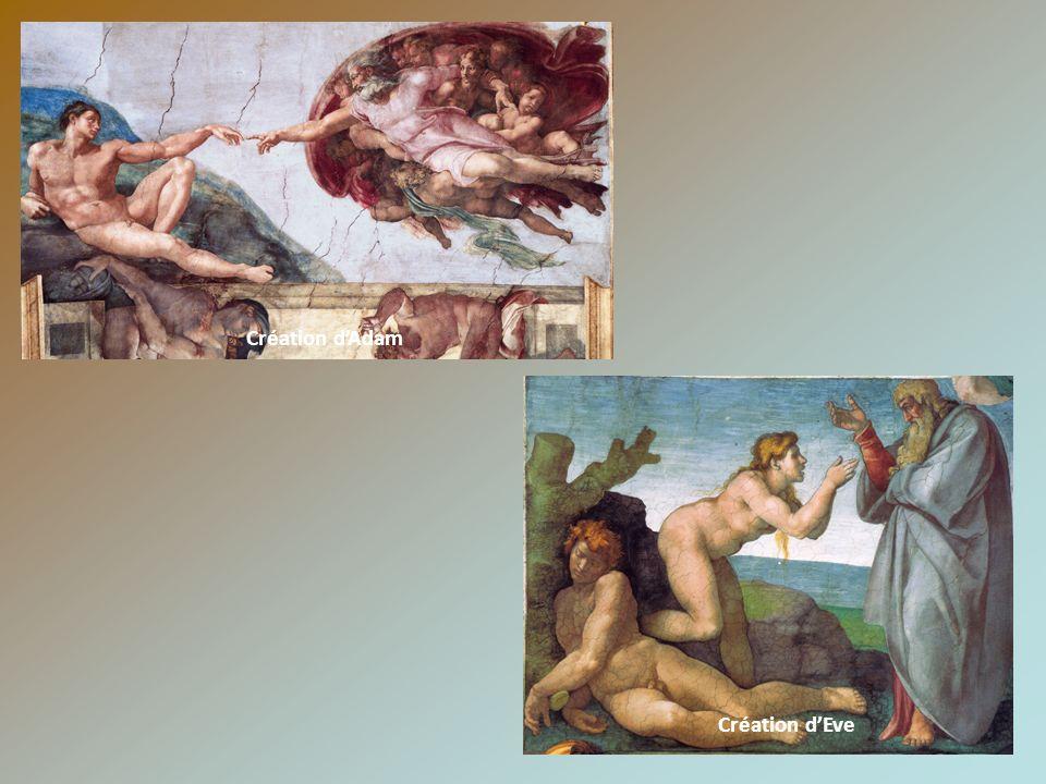 Création d'Adam Création d'Eve