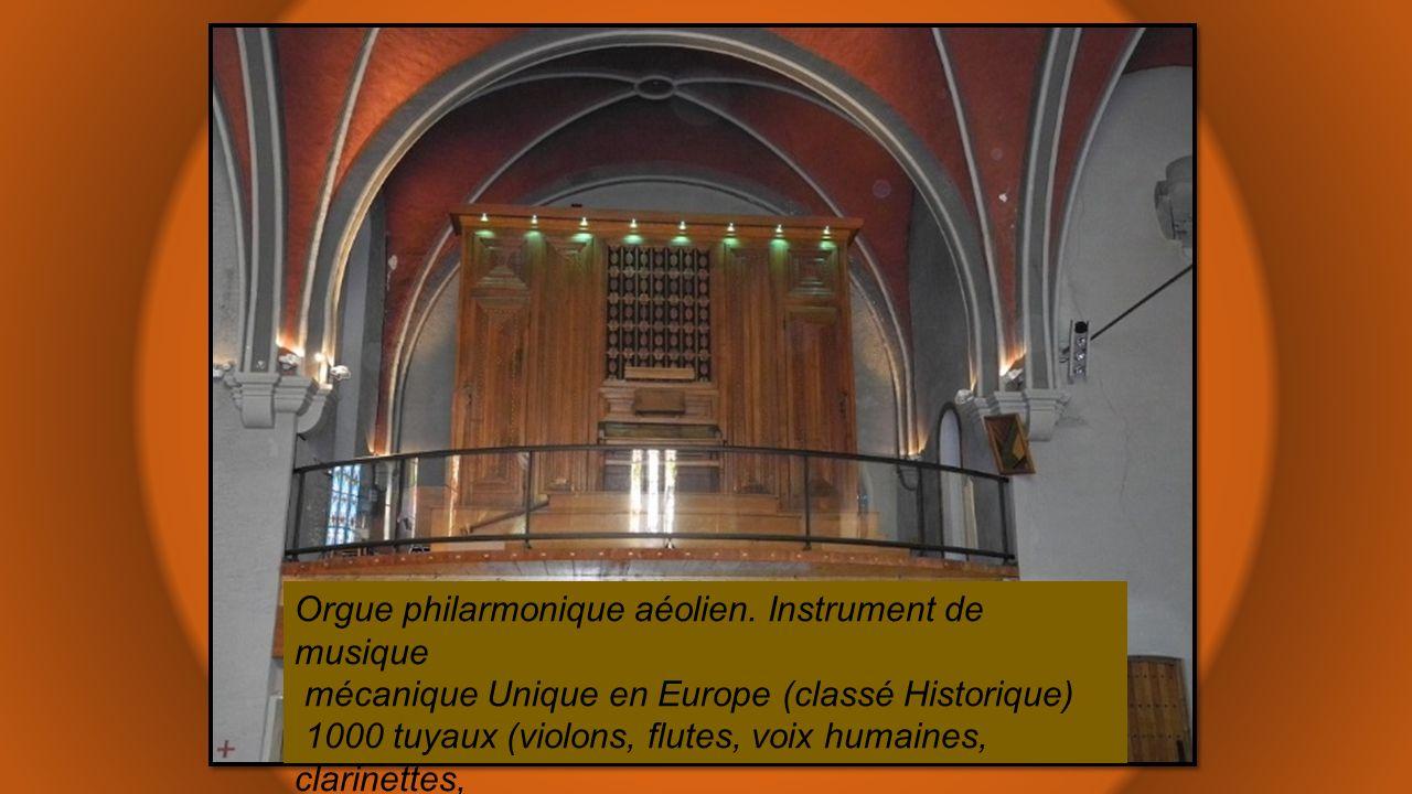 Orgue philarmonique aéolien. Instrument de musique