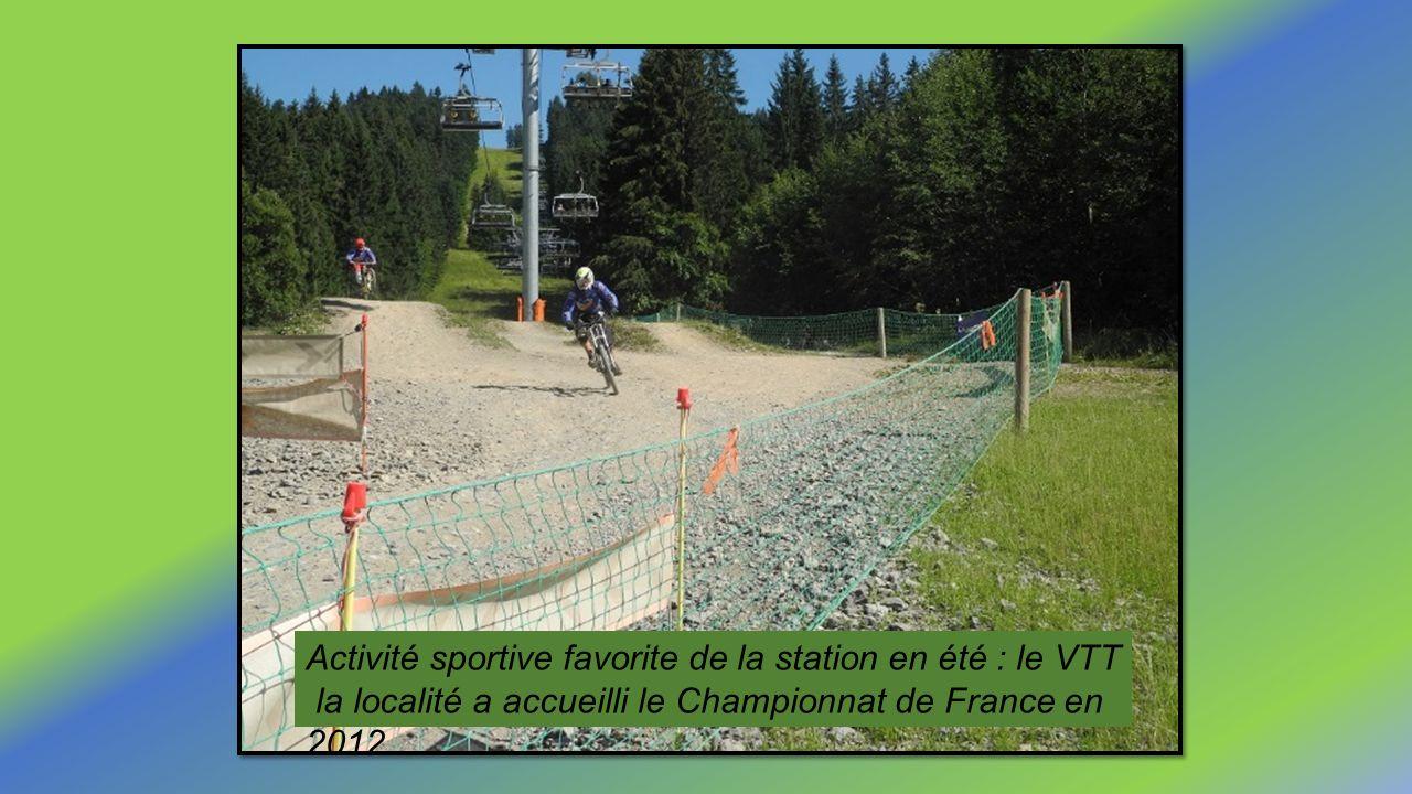 Activité sportive favorite de la station en été : le VTT