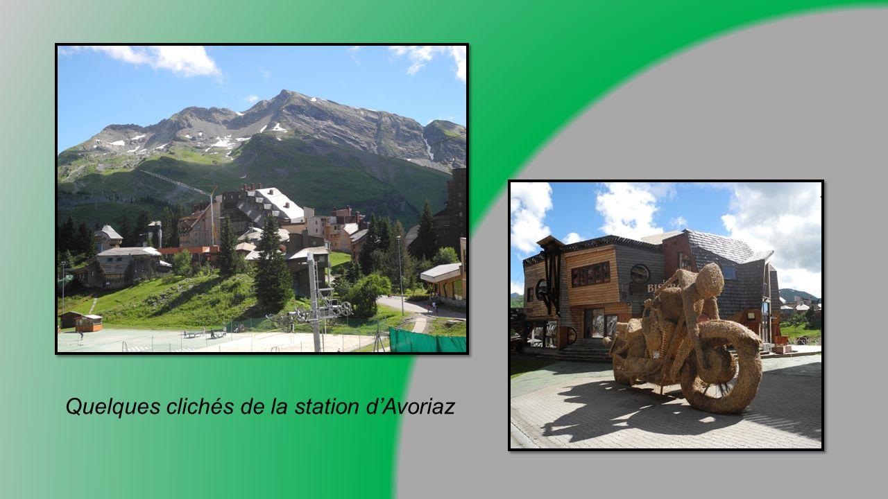 Quelques clichés de la station d'Avoriaz
