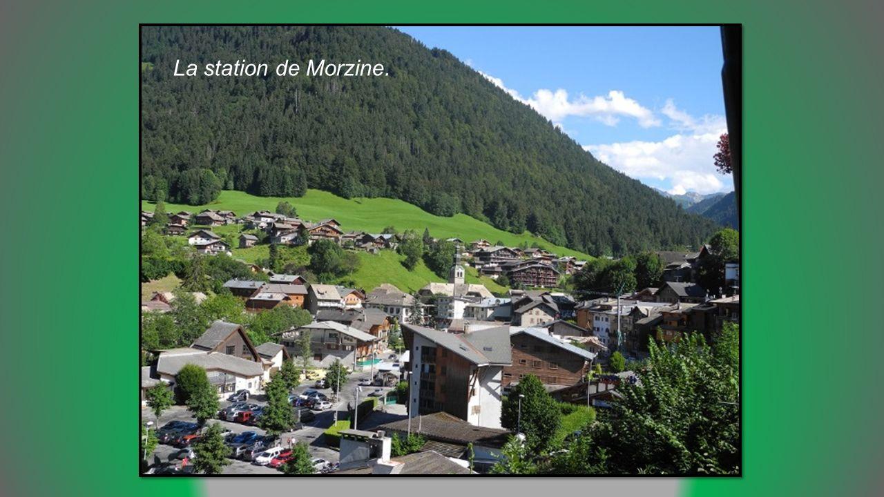La station de Morzine.