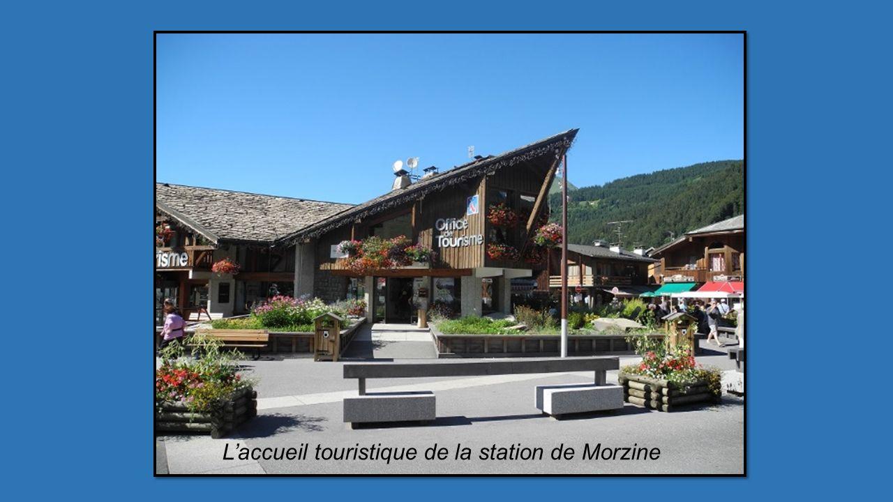 L'accueil touristique de la station de Morzine