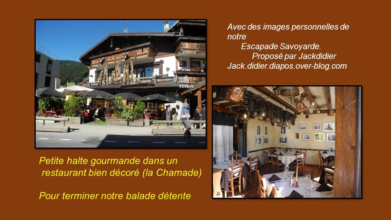 Petite halte gourmande dans un restaurant bien décoré (la Chamade)