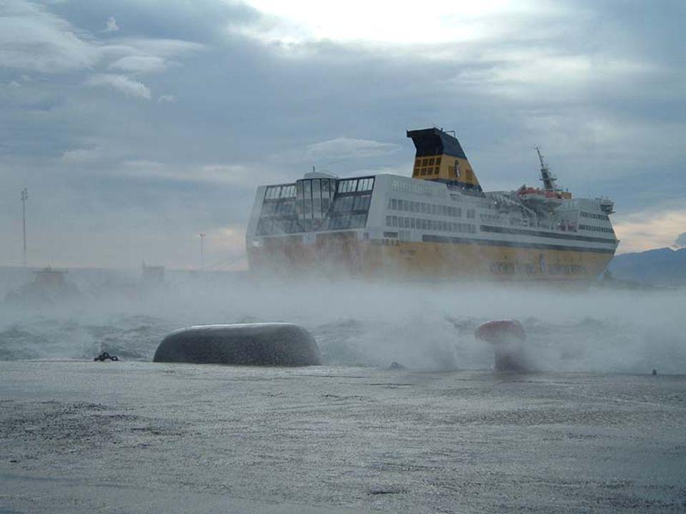 Port de Bastia le 14 janvier 2004