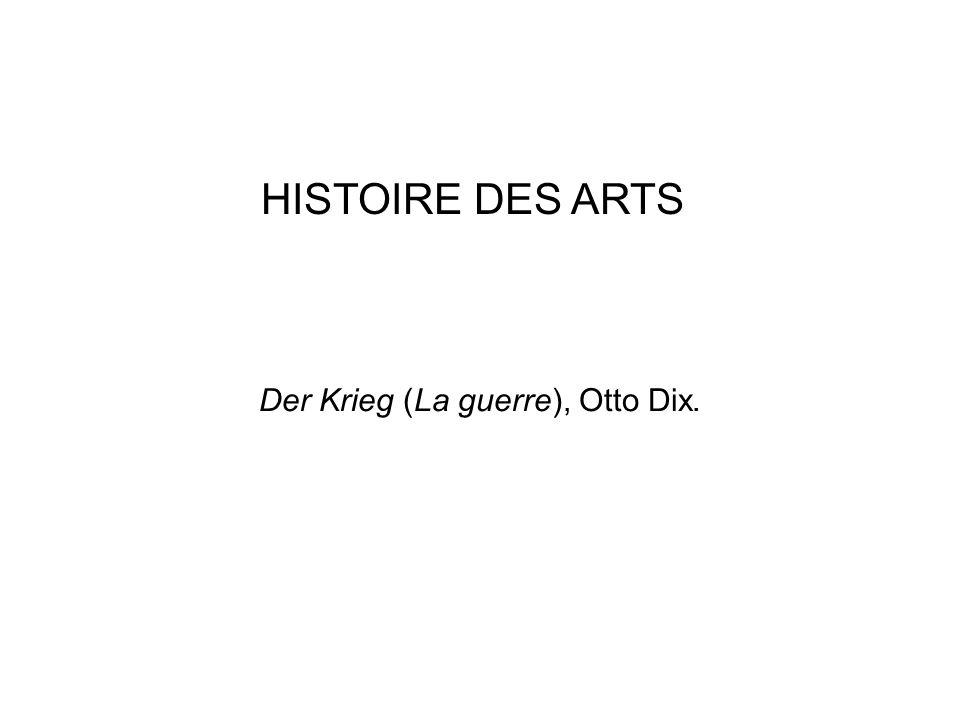 Der Krieg (La guerre), Otto Dix.