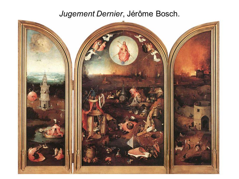 Jugement Dernier, Jérôme Bosch.