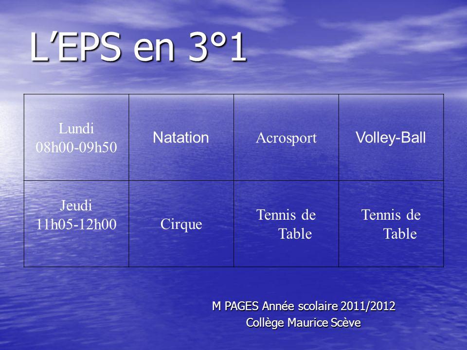 M PAGES Année scolaire 2011/2012