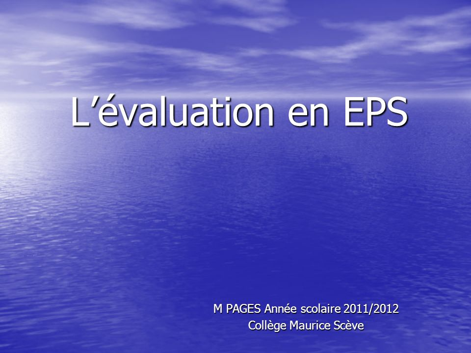 M PAGES Année scolaire 2011/2012 Collège Maurice Scève