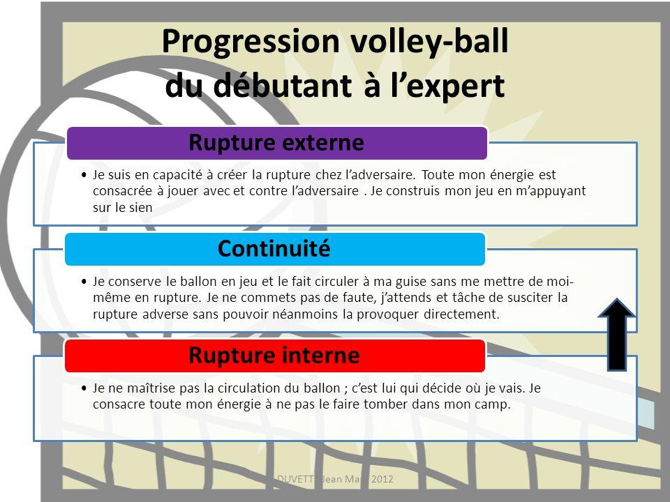 Progression volley-ball du débutant à l'expert
