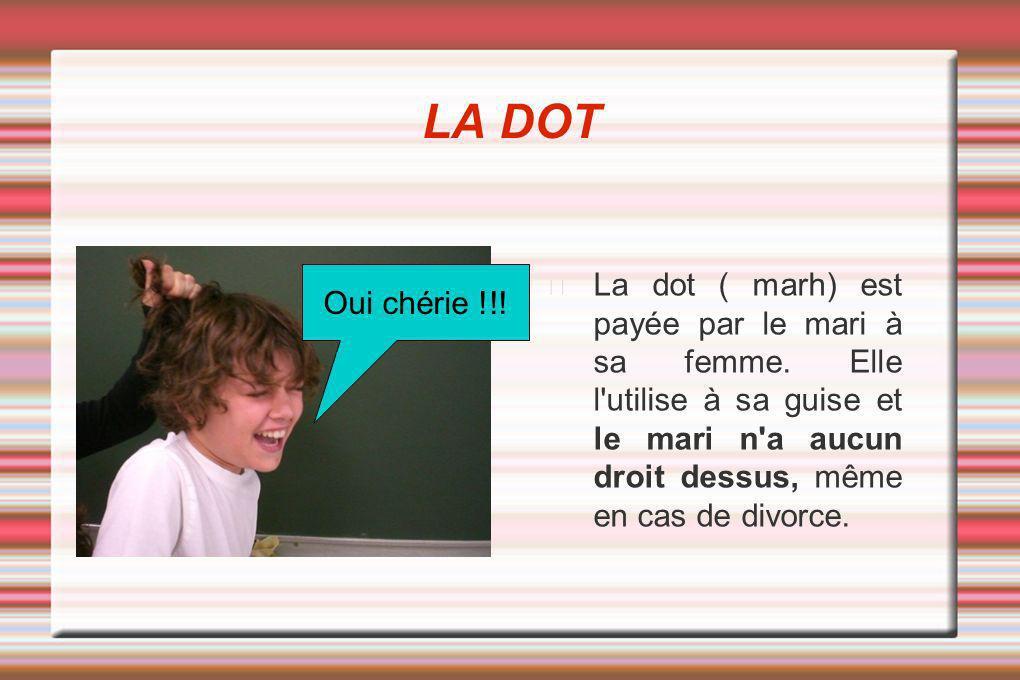LA DOT Oui chérie !!!
