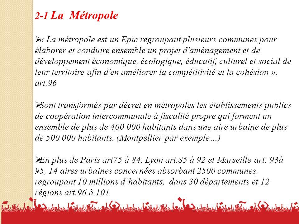 2-1 La Métropole