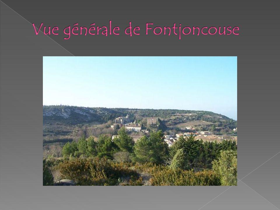 Vue générale de Fontjoncouse