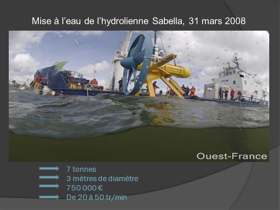 7 tonnes 3 mètres de diamètre 750 000 € De 20 à 50 tr/min
