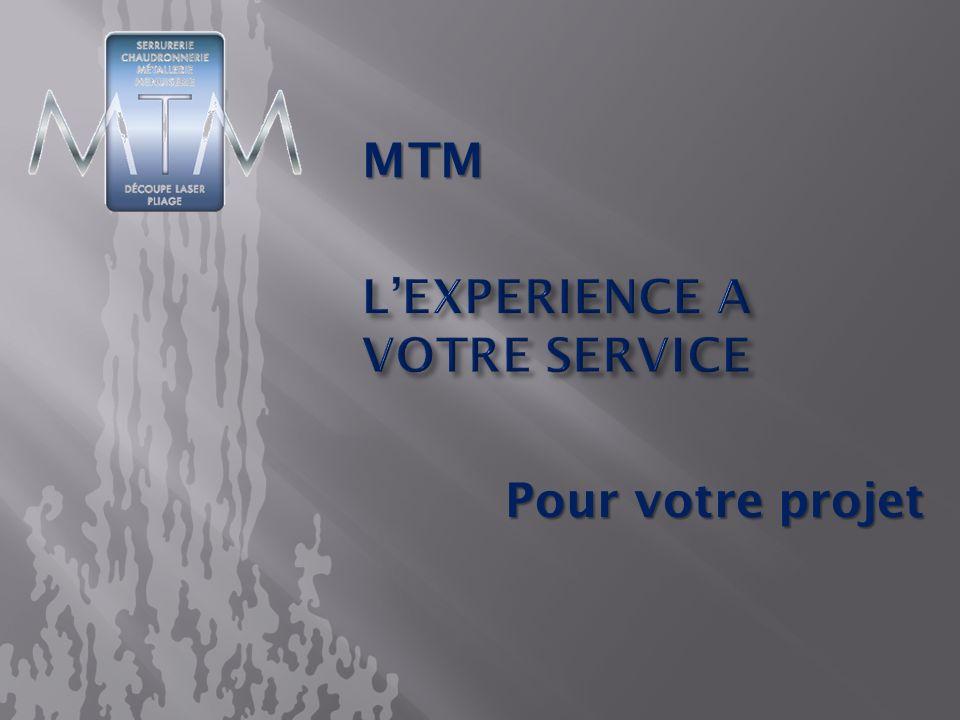 L'experience a votre service