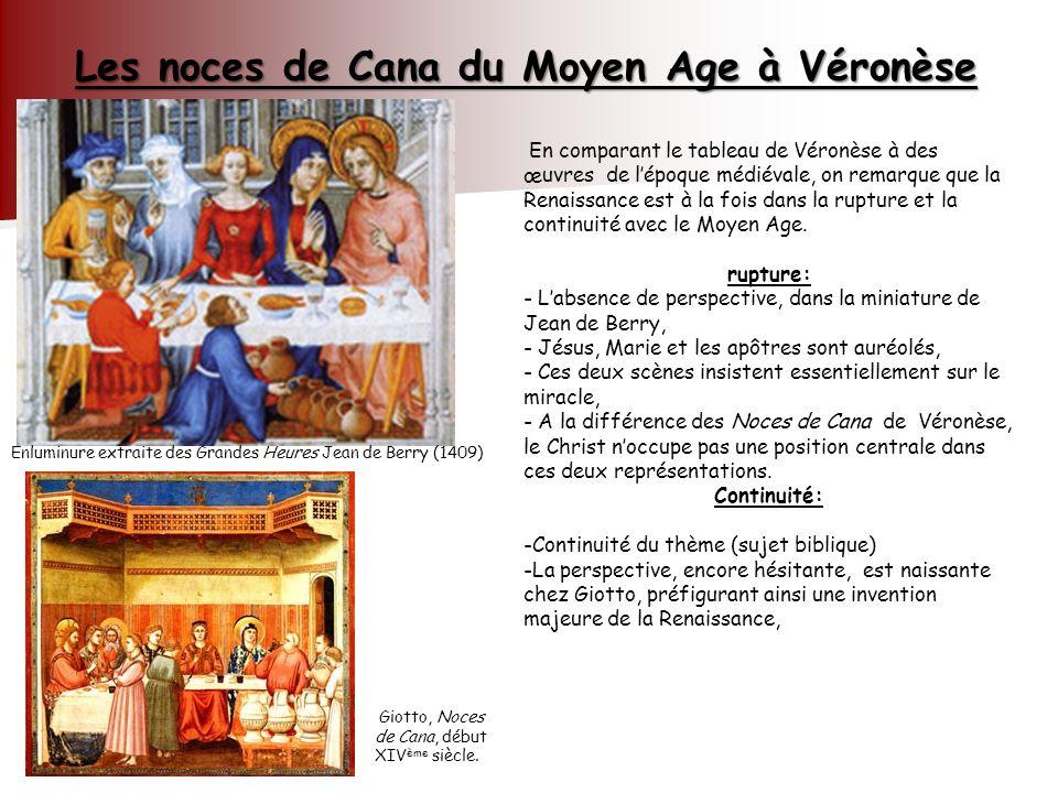 Les noces de Cana du Moyen Age à Véronèse
