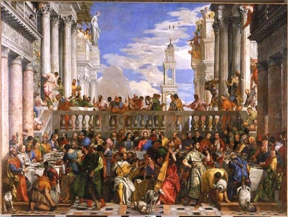 Une des plus grandes œuvres peintes sur toile(6.69cmx 9.90) 70m2!