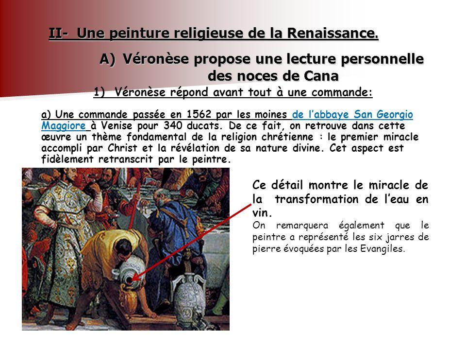II- Une peinture religieuse de la Renaissance.