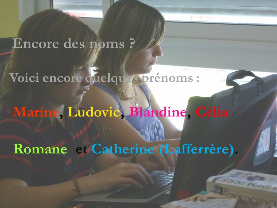 Romane et Catherine (Lafferrère).