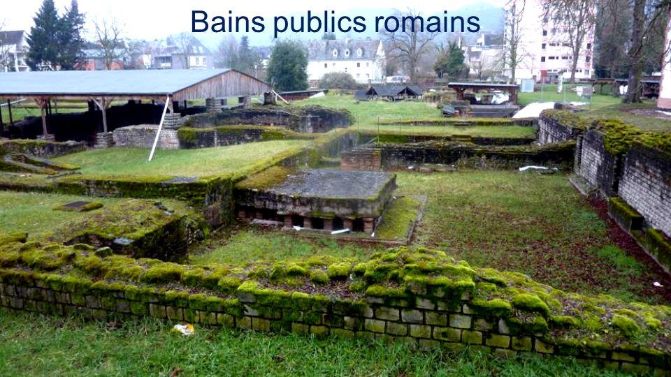 Bains publics romains