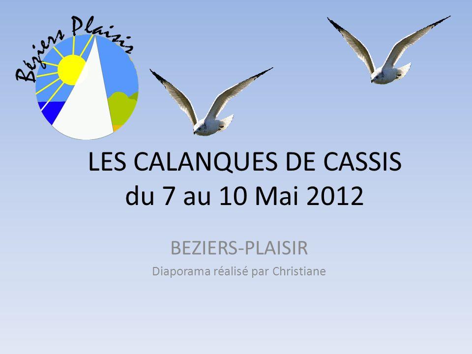 LES CALANQUES DE CASSIS du 7 au 10 Mai 2012