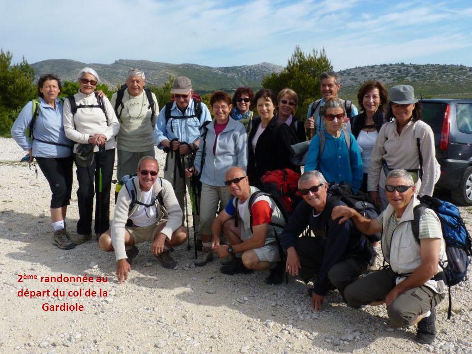 2ème randonnée au départ du col de la Gardiole