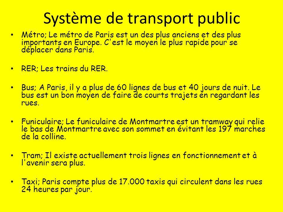 Système de transport public