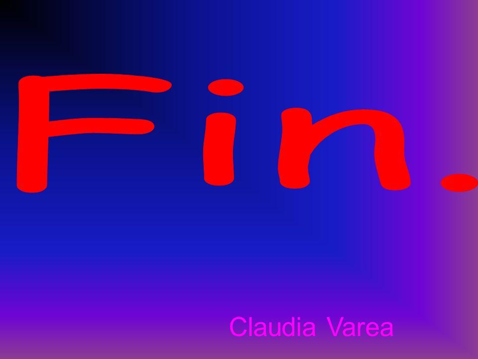 Fin. Claudia Varea