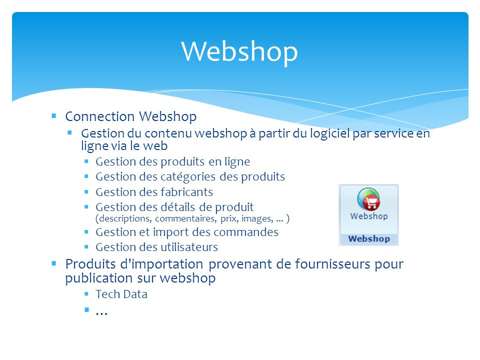 Webshop Connection Webshop
