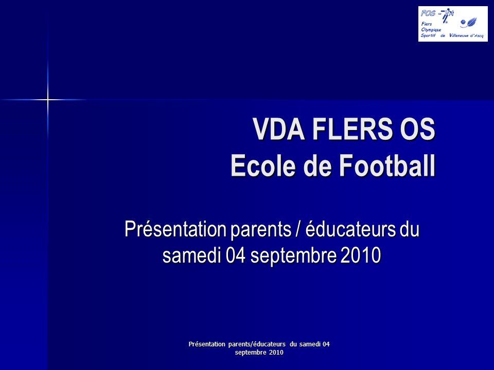 VDA FLERS OS Ecole de Football
