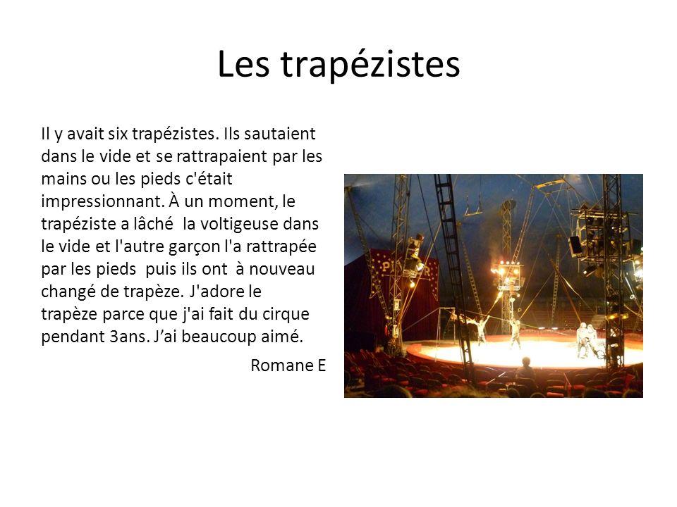 Les trapézistes