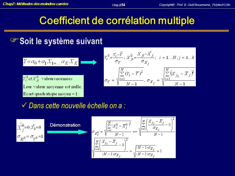 Coefficient de corrélation multiple