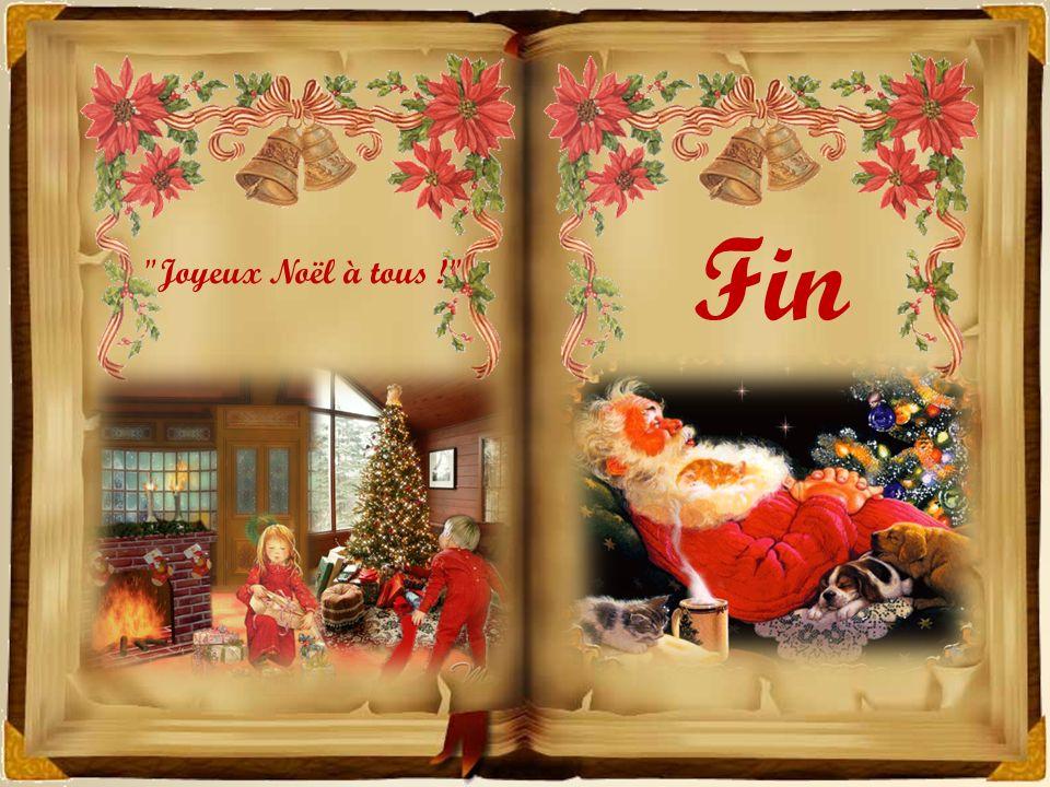 Fin Joyeux Noël à tous !